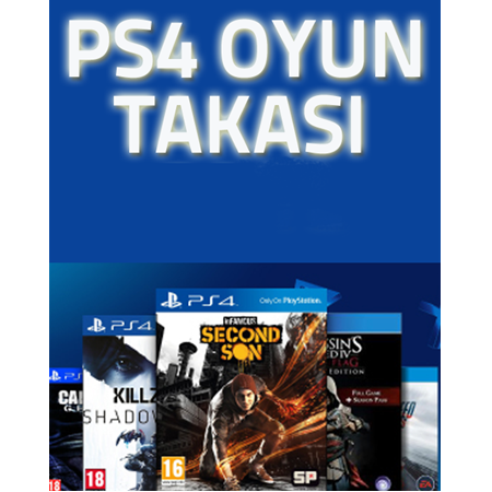 PLAYSTATION 4 OYUN TAKASI